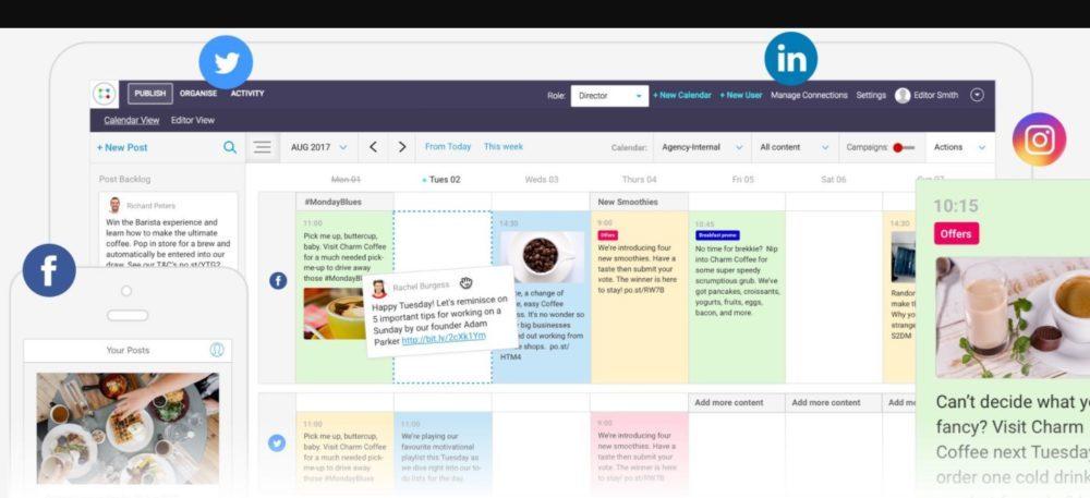 ContentCal Social Media Tools